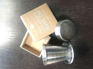 不鏽鋼隨身旅行酒杯 乾杯