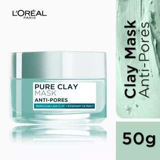 Pure Clay Mask Loreal Anti Pores
