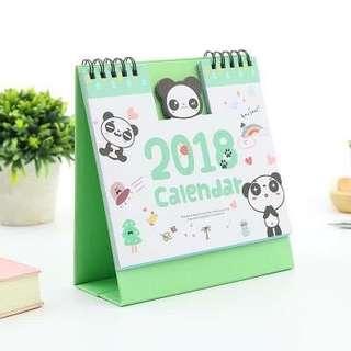Calendar Panda 2018