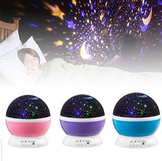Rotating Projector Baby Night Light