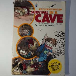 Survival In A Cave Science Comics