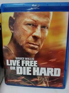 Bruce Willis Live Free Die Hard Blu Ray