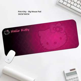 Long Hello Kitty Mouse Pad