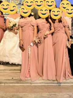 Bridesmaids/Bridal Entourage Gowns