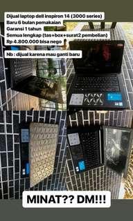 Laptop dell version 1511 (4,5k) bisa nego
