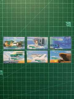 [面值發售]1998 赤鱲角機場啟用紀念 新票一套