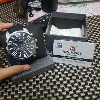 AUTHENTIC Naviforce 3atm Water resistance watch