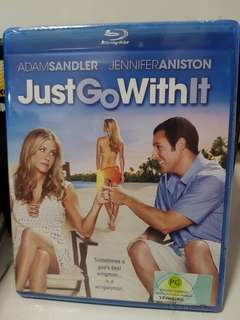 Jennifer Aniston Just Go With It Blu Ray