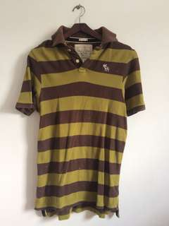 Abercombie polo size M