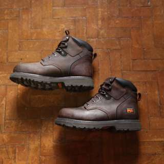 Brown Timberland Pro Boots