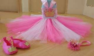 Crown Tutu Dress