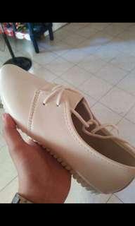 Black & White korean Rubber Shoes