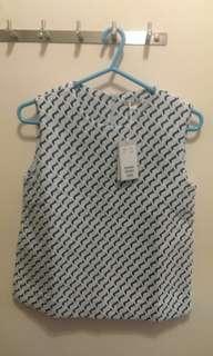 COS blue shirt eur32 155/76A