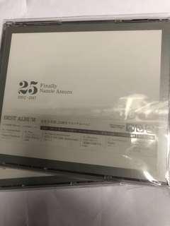 安室奈美惠 AMURO NAMIE FINALLY 3CD + BLU-RAY 日版
