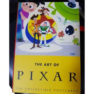 The Art of Pixar 100 Collectible Postcards
