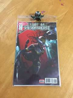 Edge of Venomverse #1-5 Full Set