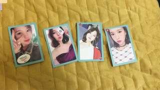 Twice ❤️MINA WHAT IS LOVE 官方小卡 每張$50可議價