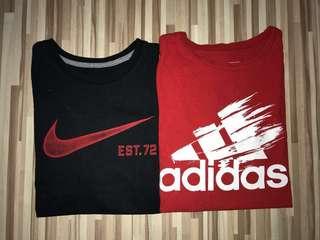Nike & Adidas t-shirt pack