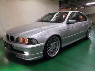 Mobil BMW E39 520i Tahun 2003, Double Glass..