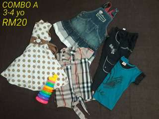 bundle/preloved kids
