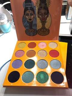 Juvias place eyeshadow palettes