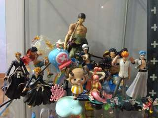 One Piece Bandai Bleach Personal Figure Collection Clearance