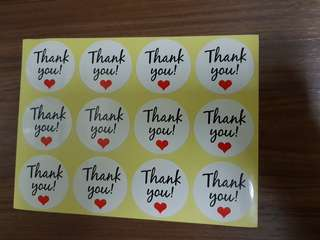 Stickers 《Thank you! ♡》