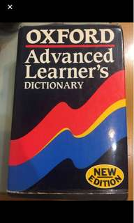 Oxford advanced learner dictionary字典