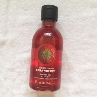 The Body Shop Strawberry Shower Gel 250 ml #PayDay30