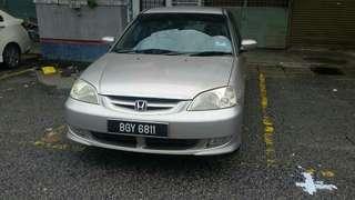 Honda Civic 1.7L (A)VTI-S 2003