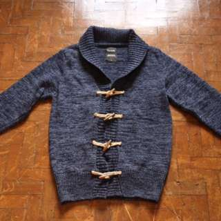 Jules Blue Knit Sweater