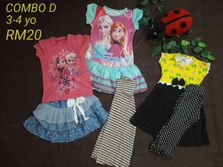 combo kids clothing