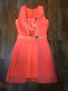 Milin Designer Orange Dress