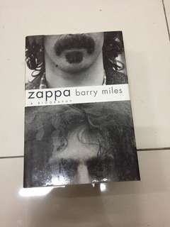 Zappa - A Biography by Barry Miles