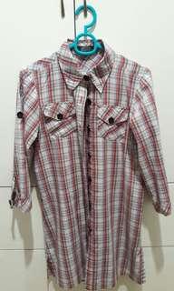 Next 3/4 Sleeves Button Down Long Shirt