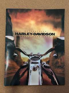 Harley Davidson - Motorcycles Model Year 2000