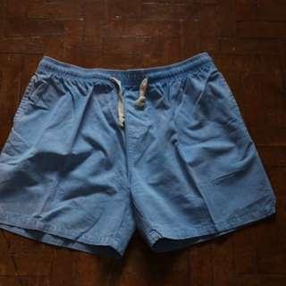 Powder Blue Swim Shorts