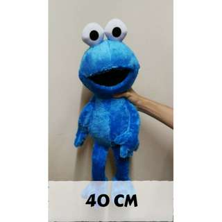 [Free Shipping] [Big] Cookie Monster Sesame Street Soft Toy Plush Toy Birthday Gift