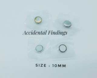 10mm Invisible Magnetic Buttons