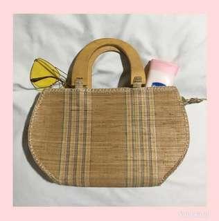 Beach Rattan Bag
