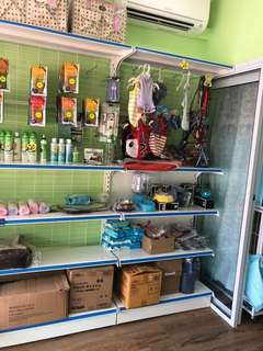Shelves for products