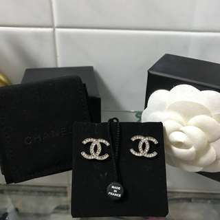 Chanel Earrings 閃鑽 耳環