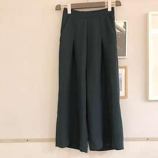 🚚 美綠簡約寬褲