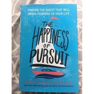 "Buku Hardcover Pengembangan Diri Bekas ""The Happiness of Pursuit"""