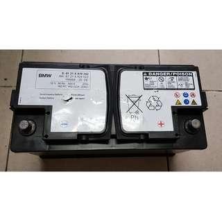 (二手中古電池) BMW歐規原廠118668  90AH 同60038 60044歐規汽車電池 數值漂亮 品項優