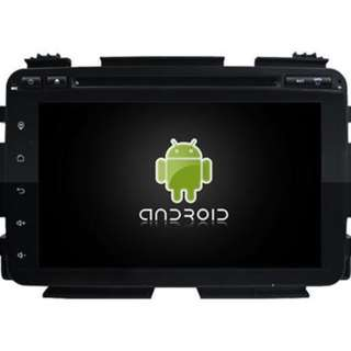 HONDA HRV ANDROID PLAYER FREE CAMERA & HEADREST MONITOR