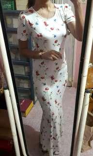 Forever 21 elegant maxi dress
