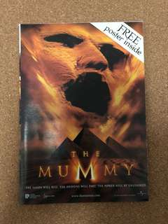 1999 The Mummy - Movie Poster