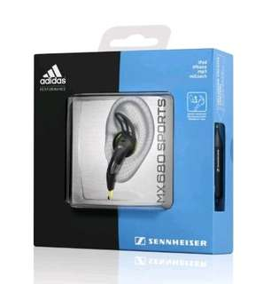 Sennheiser MX 680 Adidas Sports Earbud Headphones