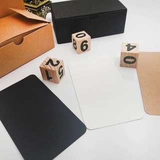BN plain cards set